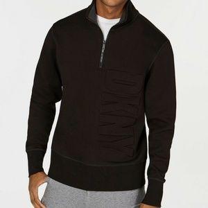 DKNY Men's Quarter-Zip Sweater Size L